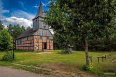 Kościół z Bożepola Wielkiego|Skansen we Wdzydzach Kiszewskich