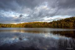 Jezioro Dobre jesienią