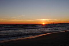 Wschód słońca w Jelitkowie